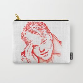 Philip Seymour Hoffman in Red Carry-All Pouch