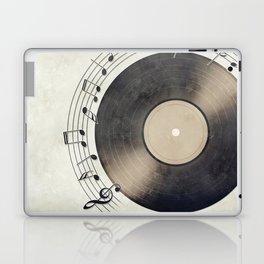 Vinyl Music Collection Laptop & iPad Skin