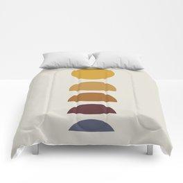 Minimal Sunrise / Sunset Comforters
