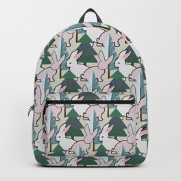 Bunnies and Trees 2 (Cute Buns) Backpack