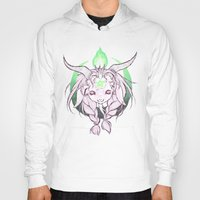 baphomet Hoodies featuring Baphomet V3 by Savannah Horrocks
