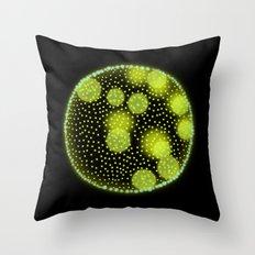 Volvox Throw Pillow