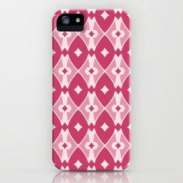 Rounded Argyle Pattern iPhone Case