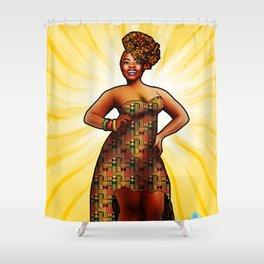 Ashanti Queen Shower Curtain