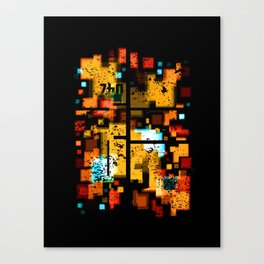 Abstract Composition #3 Canvas Print
