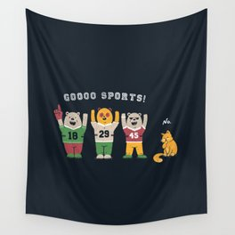 Crowd-cheering? No thanks Wall Tapestry