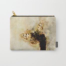 """Watercolor butterfly """"Lycaena tityrus"""" Carry-All Pouch"""