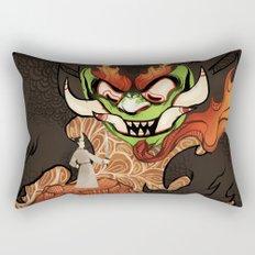 Samurai Jack and Aku Rectangular Pillow