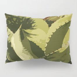 Agave Abstract Pillow Sham