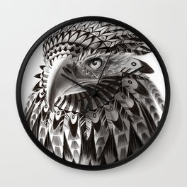 eagle shaman Wall Clock