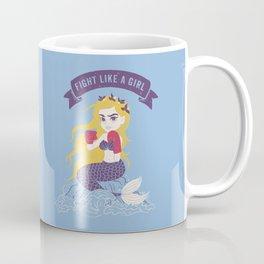 Fight Like a Girl Coffee Mug