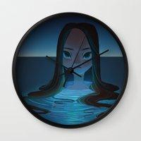 siren Wall Clocks featuring siren by miova