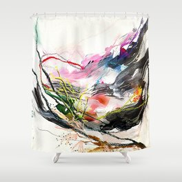 Day 58: Beauty and variety could not exist without peculiarity. Shower Curtain