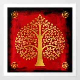 Bodhi Tree0109 Art Print