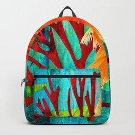 Golden Fish Backpack