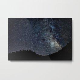 Milky Metal Print