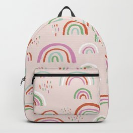 Colorful rainbows magic dreams kawaii sky kids Backpack