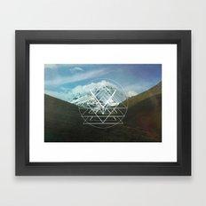 Forma 00 Framed Art Print