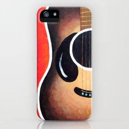 Smiling Guitar iPhone Case