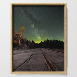 Northern Lights (Color) Serving Tray