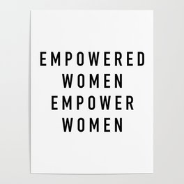 Empowered Women Poster