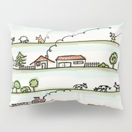 Country Life Pillow Sham