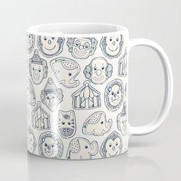 circus cookies indigo ivory Coffee Mug
