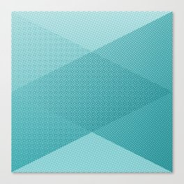 COOL HALFTONE Canvas Print