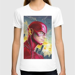 Barry Allan-THE FLASH T-shirt