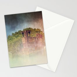 Ghostly Garden Shipwreck Stationery Cards