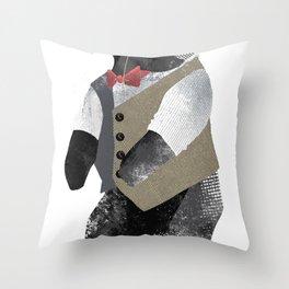 Fancy Bear Throw Pillow