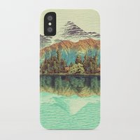 peace iPhone & iPod Cases featuring The Unknown Hills in Kamakura by Kijiermono