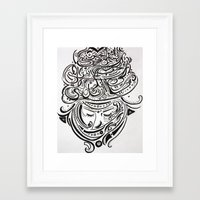 arab Framed Art Prints featuring Arab love by Mighty Truth