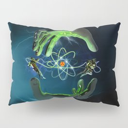 The Atom Control Pillow Sham