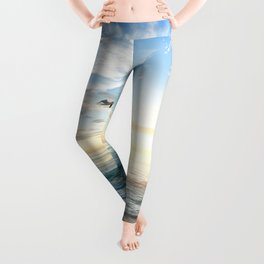 Beach Scene 34 Leggings