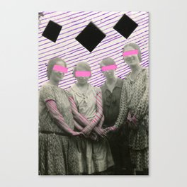 The Radioactive Sisters Canvas Print