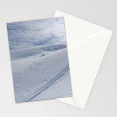 Snow Tracks Stationery Cards