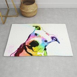 Pit bull | Rainbow Series | Pop Art Rug