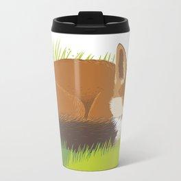 Snoozy Red Fox Travel Mug