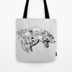 Roaring beast Tote Bag