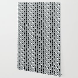 Benji the Cat 4 - Silver Wallpaper