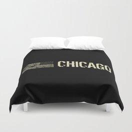 Black Flag: Chicago Duvet Cover