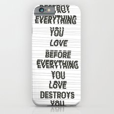Destroy iPhone 6s Slim Case