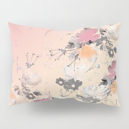 ombre floral - all Pillow Sham