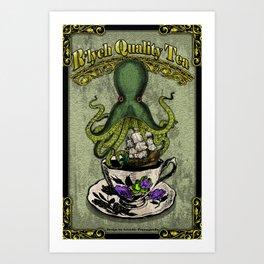 R'lyeh Quality Tea Art Print
