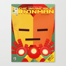 ironman fan art Canvas Print