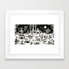 A Grim Hereafter Framed Art Print