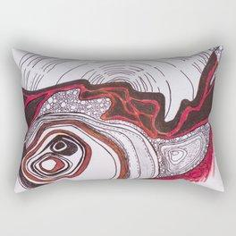 River Bed Rectangular Pillow