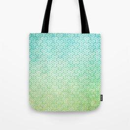 Geometric degrade  Tote Bag