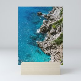 Mediterranean Blue Mini Art Print
